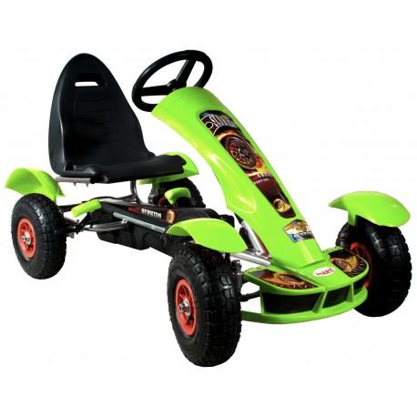 Go-kart Formula Sport verde