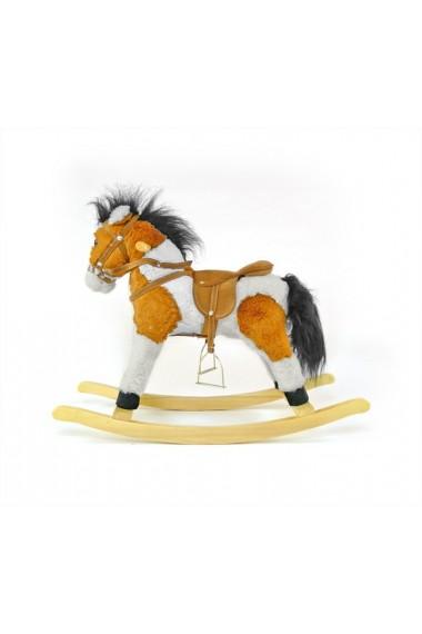 Caballo balancin Pony marrón