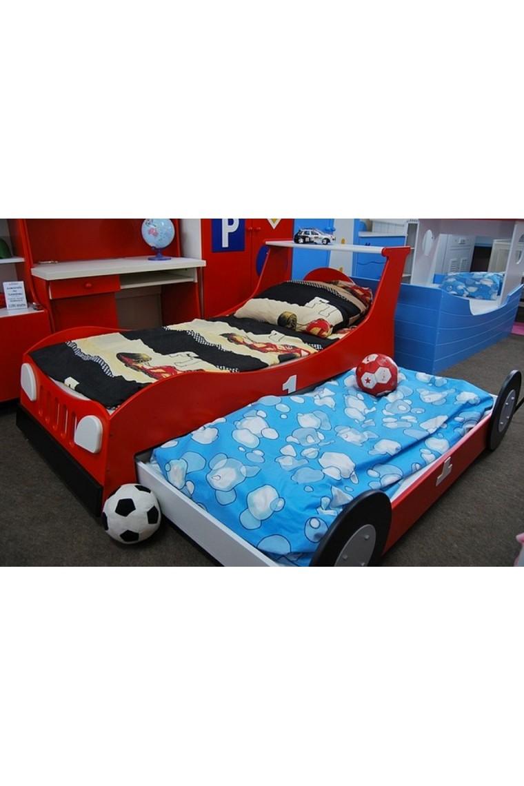 cama coche nido 180x90 cm. Black Bedroom Furniture Sets. Home Design Ideas