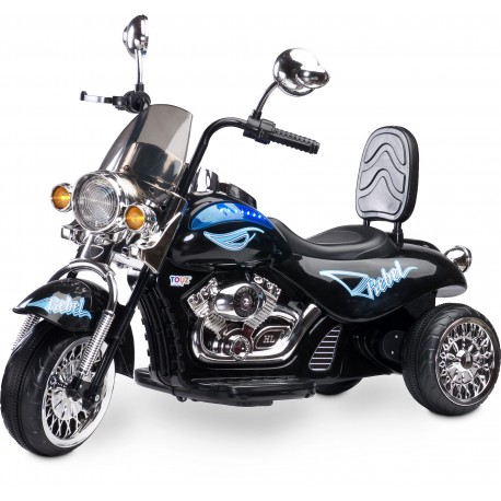 Coche eléctrico Motocicleta Rebel Negro