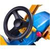 Coche eléctrico Bulldozer azul