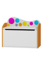 Caja de juguetes Arco Iris