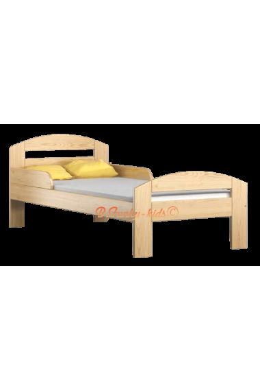 Cama de madera de pino Tim2 180 x 80 cm