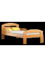 Cama de madera de pino macizo Tim2 160 x 70 cm