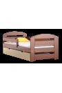 Cama de madera de pino Kam3 con cajón 160 x 80 cm