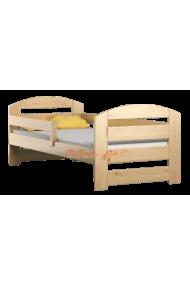 Cama infantil de madera de pino macizo Kam3 160 x 80 cm