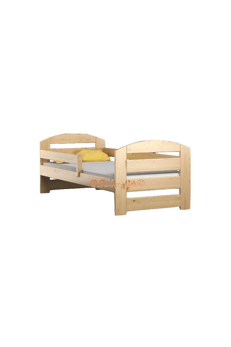 Cama de madera de pino macizo kam3 180x80 cm - Cama dosel madera ...