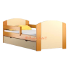 Cama de madera de pino macizo con cajón Kam4 160 x 80 cm