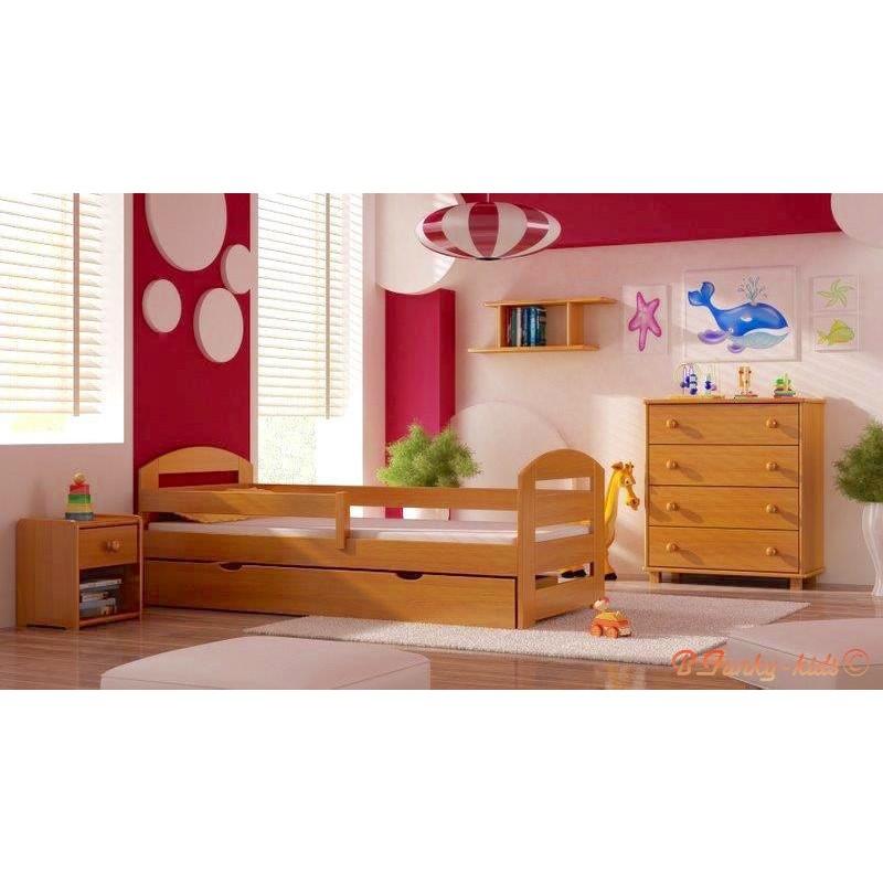 5 piezas conjunto de muebles de pino macizo kam3 160x70 cm for Muebles de pino macizo