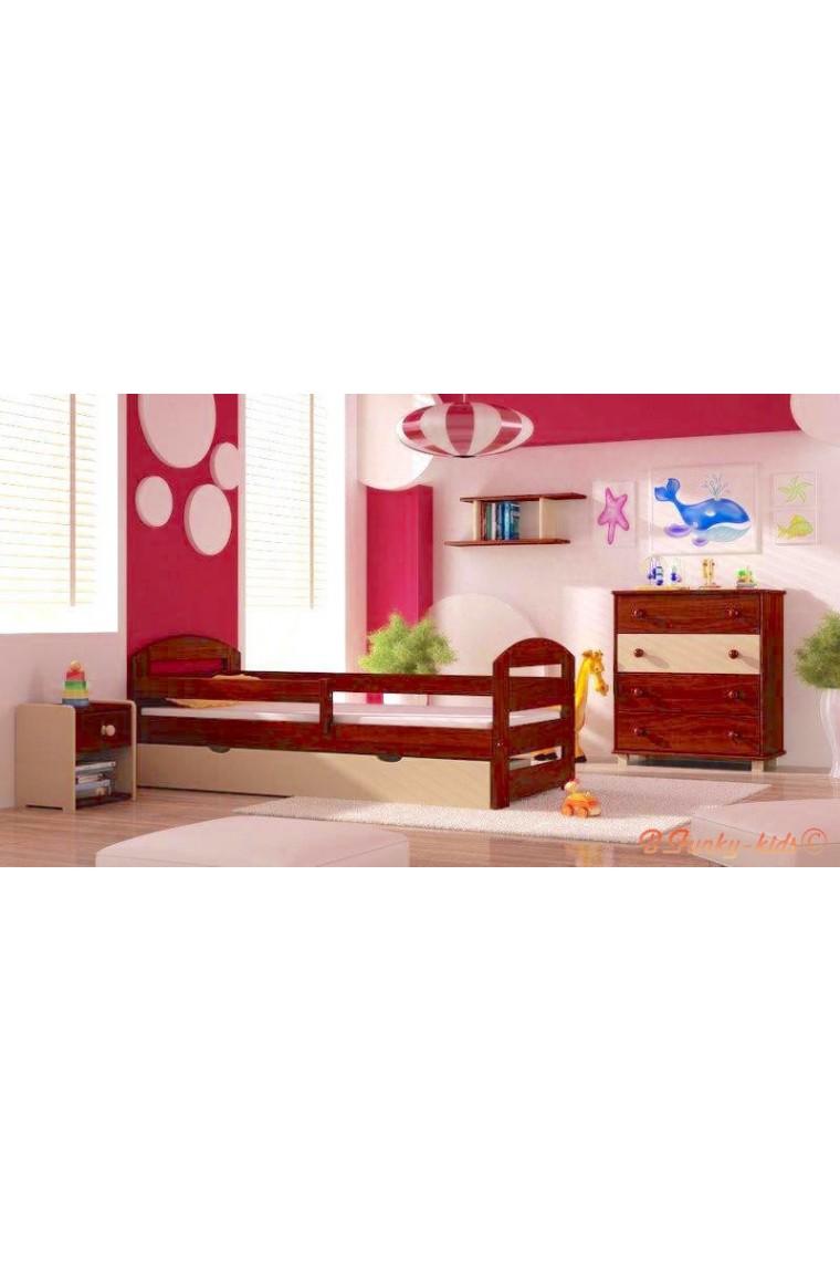 5 piezas conjunto de muebles de pino macizo kam3 160x70 cm - Muebles pino macizo ...