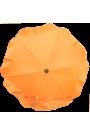 Parasol sombrilla para carrito naranja