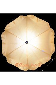 Parasol sombrilla para carrito amarillo limon