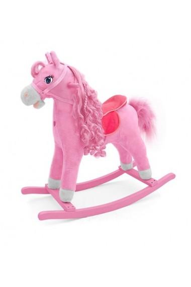 Caballo balancin Princesa Rosa