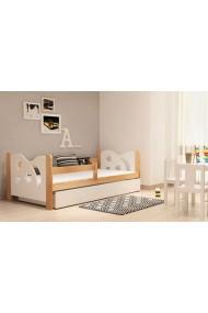 cama infantil de madera de pino macizo