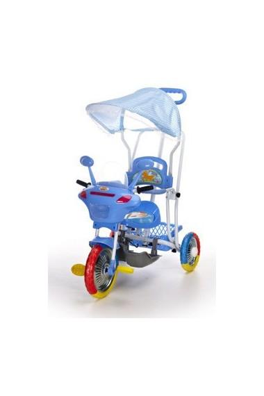 Triciclo Motocicleta azul