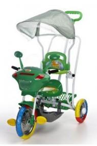 Triciclo Motocicleta verde