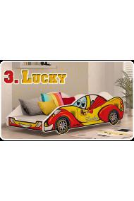 Cama coche niño niña con colchón 180x90