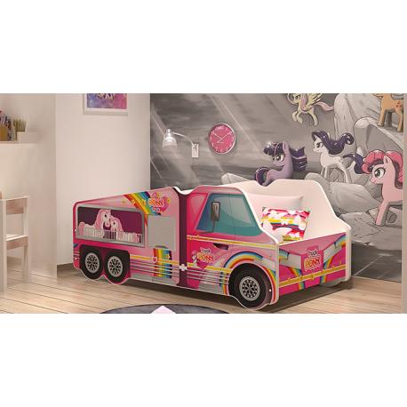 Cama niña Pony con colchón 140x70