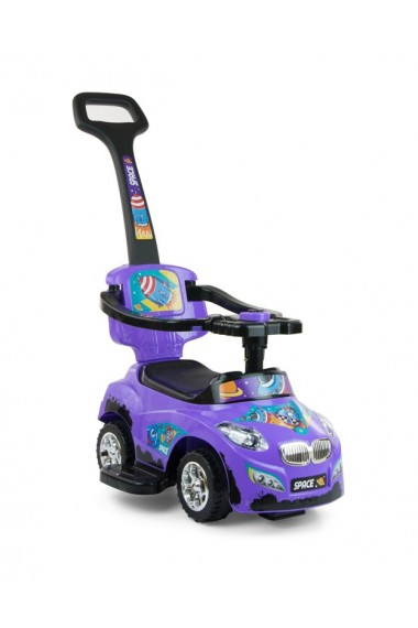 Correpasillos coche 3 in 1 HAPPY violeta