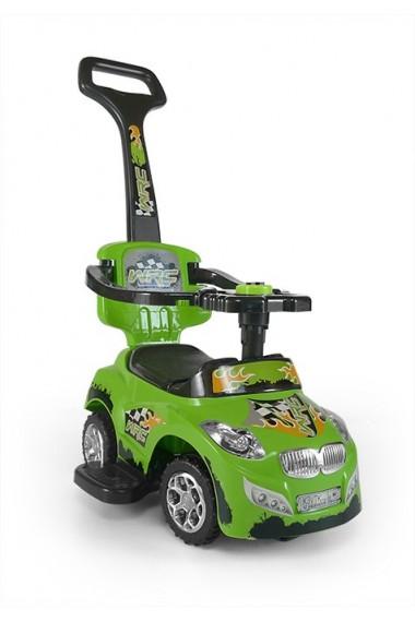Correpasillos coche 3 in 1 HAPPY verde