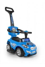 Correpasillos coche 3 in 1 HAPPY azul