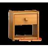 Mesa de noche de madera maciza
