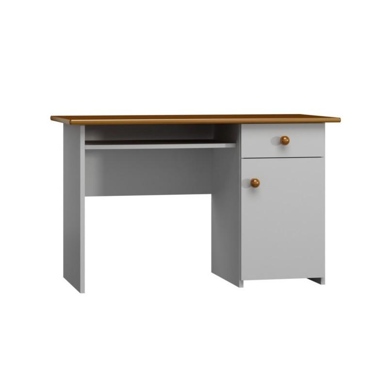 Mesa estudio de madera maciza - Mesa de madera maciza ...