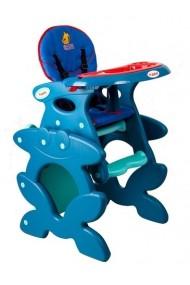 Trona 2 en 1 convertible azul marino Doggy