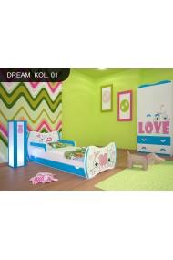 Cama infantil Sueños Azules Colección con cajón y colchón