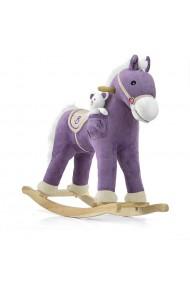 Caballo balancín Pony púrpura