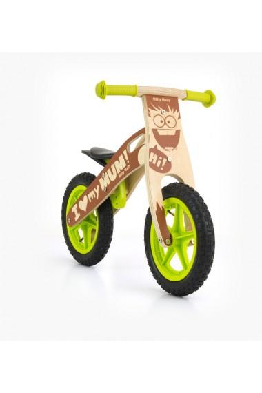 King Chico - bicicleta de madera sin pedales