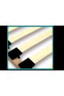 Cama de madera de pino macizo Greg con cajón 160x80 cm