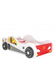 Cama coche con luces LED 180x90 cm