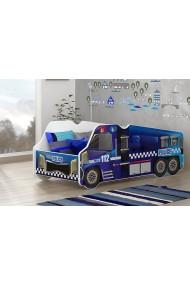 Cama camión de la Policía 140x70 cm