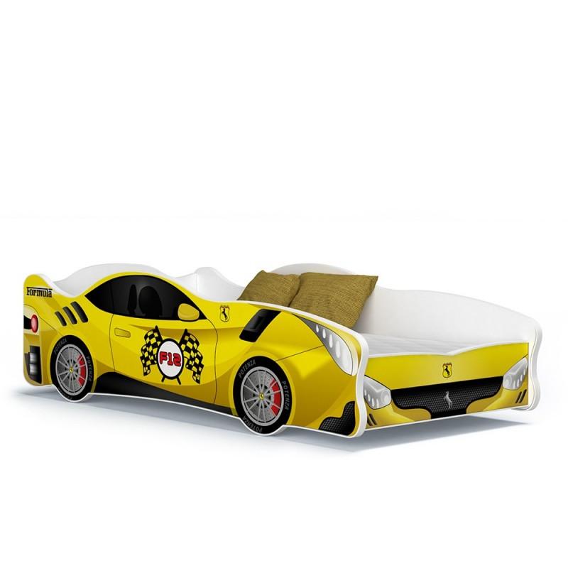 Cama coche infantil cars ni a ni o 160x80 cm - Cama coche nino ...