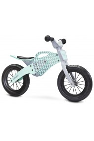 Enduro menta - bicicleta de madera sin pedales