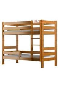 Cama litera de madera maciza Casper 200x90 cm