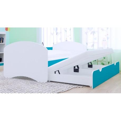 Cama nido infantil Happy Colección con 2 colchones 160x80 cm