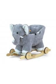 Balancín Polly gris elefante