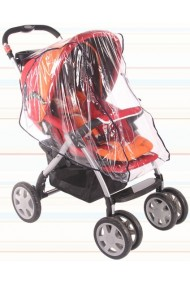 Universal plastico de lluvia de cochecito, de paseo