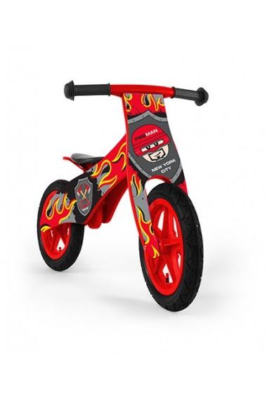 DUPLO FIREMAN - bicicleta de madera sin pedales