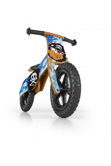 DUPLO PIRATA - bicicleta de madera sin pedales