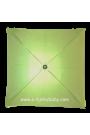 Parasol sombrilla para carito verde