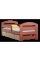 Cama de madera de pino Kam3 con cajón 180 x 80 cm