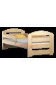 Cama de madera de pino Kam3 160 x 80 cm