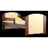 Cama de madera de pino macizo Kam4 160 x 80 cm