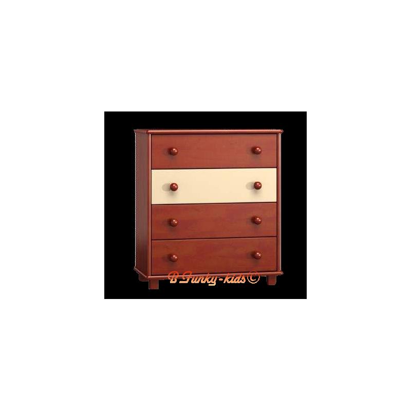 C moda de madera maciza for Tocador de madera maciza