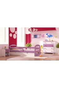 5 piezas conjunto de muebles de pino macizo Kam3 160x70 cm