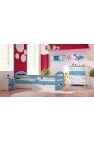 5 piezas conjunto de muebles de pino macizo Kam3 160x80 cm