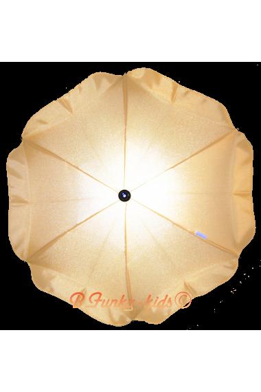 Parasol sombrilla para carito amarillo